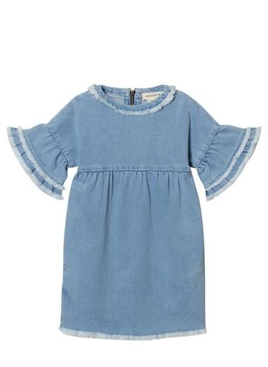 Andorine Elbise Mavi